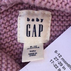 GAP Jackets & Coats - Baby gap garter bear button up lilac sweater